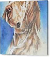 English Setter Canvas Print