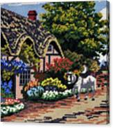 English Tapestry Canvas Print
