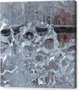 Engrenage De Glace / Iced Gear Canvas Print