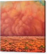 Engulfing Winds Canvas Print