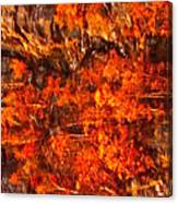 Enigma Orange Canvas Print