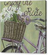 Enjoy The Ride Canvas Print