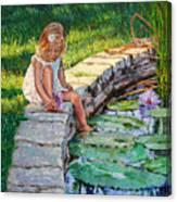 Enjoying Yesterdays Sunlight Canvas Print