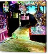 Ensenada Street Scene Canvas Print