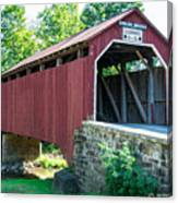 Enslow/turkey Tail Covered Bridge Canvas Print