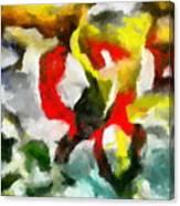 Entangled Firmament Canvas Print