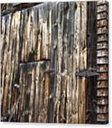 Enter The Barn Canvas Print