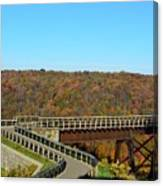 Enter The Kinzua Skywalk Canvas Print