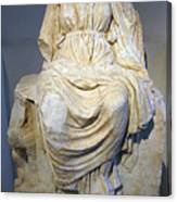 Enthroned Cybele Canvas Print