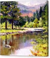 Entiat River Canvas Print