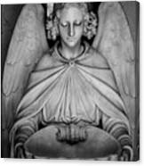 Entrance Angel Canvas Print