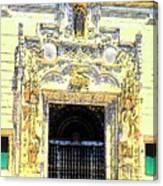 Entrance Casa Grande Canvas Print