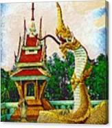 Entrance Dragon Canvas Print