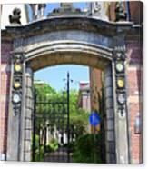Entrance Of Bornhof Canvas Print