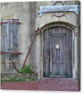 Entrance To An Old Chandlery Canvas Print