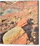 Entrance To Cohab Canyon Canvas Print