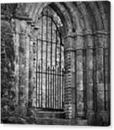 Entrance To Cong Abbey Cong Ireland Canvas Print