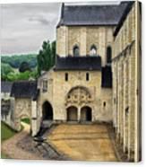 Entrance To Fontevraud Abbey Canvas Print