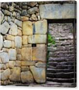 Entrance To Machupicchu Canvas Print