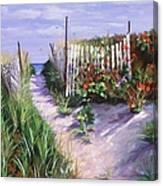 Entrance To Nantasket Canvas Print
