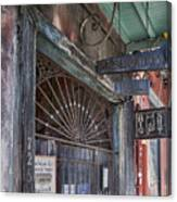 Entrance To Preservation Hall, New Orleans Canvas Print