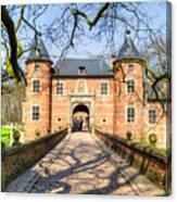 Entrance To The Castle, Belgium Canvas Print