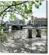 Entry To Prague Canvas Print
