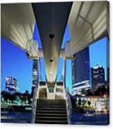 Entry To The City Canvas Print