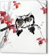 Envoy Of Fall Canvas Print