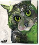 Envy-much Canvas Print