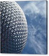Epcot Architecture Canvas Print