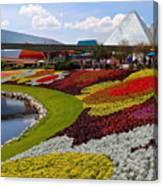 Epcot Gardens Canvas Print