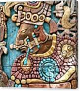 Epcot Mayan Warrior Canvas Print
