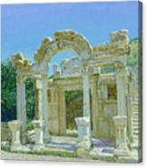 Ephesus.ruins Canvas Print