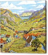 Epic Charlevoix Created By Richard Pranke Canvas Print
