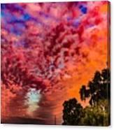 Epic Sunset Canvas Print