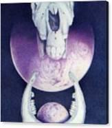 Epona Goddess Of Fertility Canvas Print