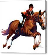Equestrain Canvas Print