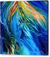 EQUINE ILLUSION in BLUE Canvas Print