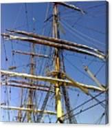 Era Of Sail Canvas Print