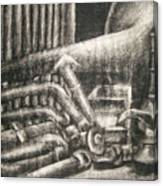 Erasable Still Life Canvas Print