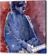 Eric Clapton 04 Canvas Print