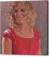 Erin Hiatt - Junior Miss 2009 Canvas Print