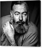 Ernest Hemingway 1944 Canvas Print