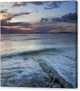 Eroded By The Tides Canvas Print