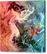 Eroscape 08 1 Canvas Print
