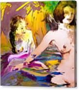 Eroscape 15 2 Canvas Print