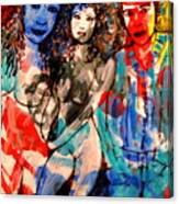 Erotic Nude 2 Canvas Print