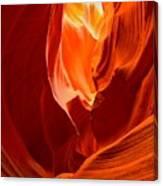 Erupting Flames Canvas Print