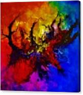 Eruptive Force Canvas Print